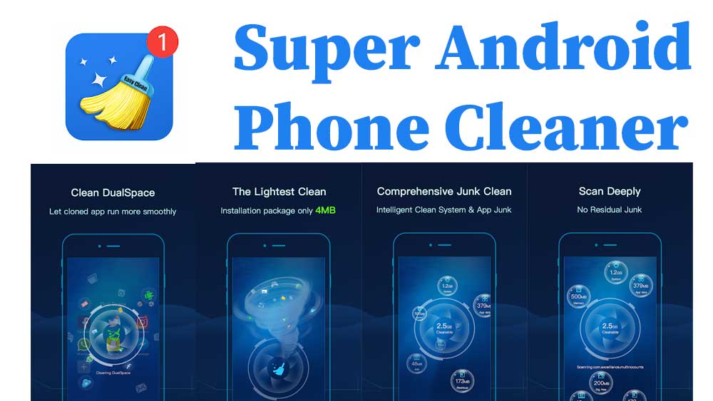 Super Android phone cleaner free